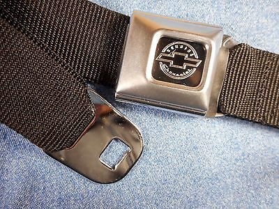 Brand New Chevrolet Seatbelt Pants Belt - Free Shipping - Made In U.s.a.