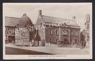 Somerset The Round House & Post Office Castle Cary Real Photo Local Publisher