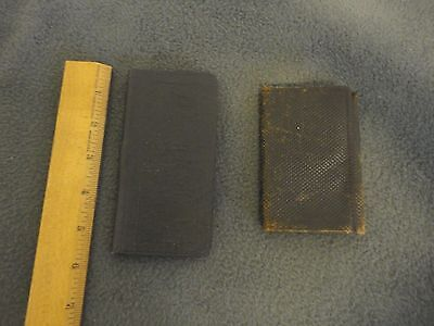 VTG 1913 First National Wallet & 1928 City National Bank Calendar Logansport,IND