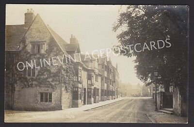 Northamptonshire North Street Oundle Real Photo