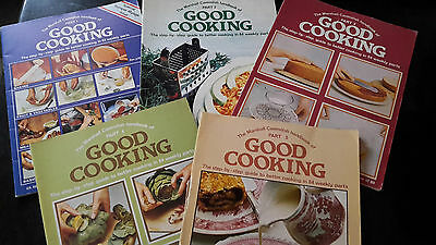 Good Cooking 1970s Cooking Series 5 Issues Cookery Recipe Retro Vintage