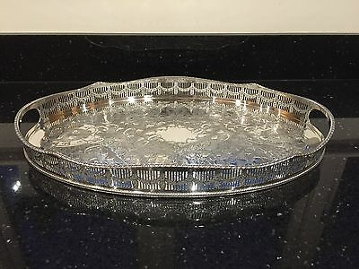 Viners Of Sheffield Alpha Plate Serving Tray  (Charity Sale)
