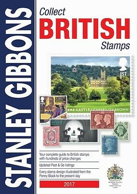 STANLEY GIBBONS - 2017 COLLECT BRITISH STAMPS 68th Ed. PAPERBACK BOOK Preorder