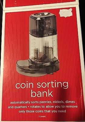 Coin Sorting Bank  New in box