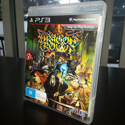 Dragon's Crown (Sony PlayStation 3, 2013) Like New