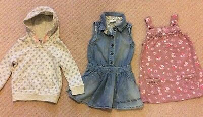Small Bundle Girl Clothes Age 12-18m