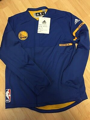 Adidas Golden State Warriors Team Issued Jacket 3xl + 2 P.e Sample Unreleased