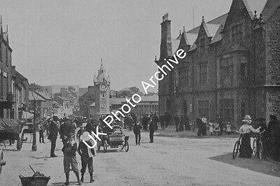 Bulkeley Square And Bull Hotel Llangefni c.1900 Photo 6x4