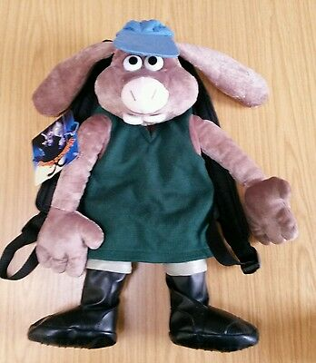 'Hutch' kids backpack from the Curse of the Wererabbit Wallace and Gromit film.