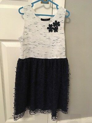 Girls Party Dress Age 8-9 Yrs From George