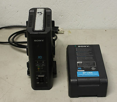 Sony BC-L50 Battery Charger with BP-L90A Battery