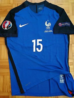 France Pogba Player Issue shirt Match un worn Jersey XL Nike Maillot Maglia
