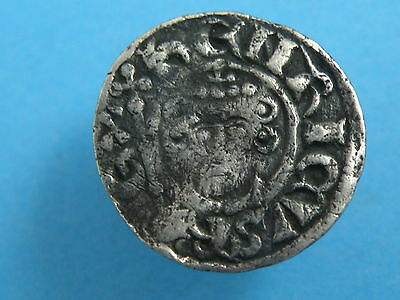 Hammered MEDIEVAL - SHORT CROSS COINAGE SILVER PENNY COIN
