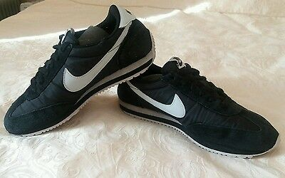 Nike Trainers. Black Suede/synthetic. Size Uk 5. Eur 38.5.