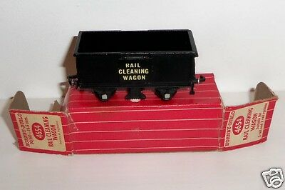 Hornby Dublo 4654 Rail Cleaning Wagon Mint Boxed - RARE -