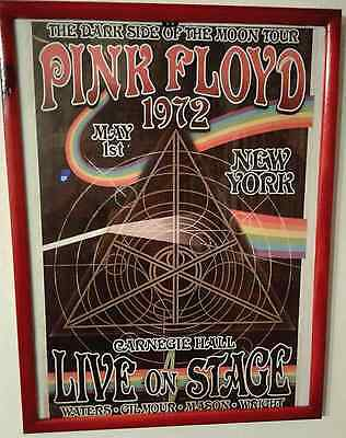 """Locandina Concerto - Pink Floyd - Tour """"The Dark Side Of The Moon"""" - 1972"""