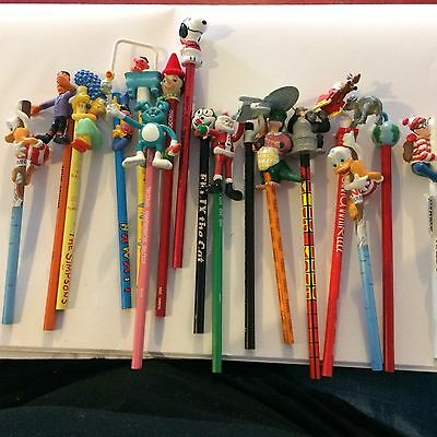 Vintage Pencil Toppers