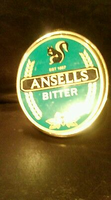 Ansells bitter pump clip used