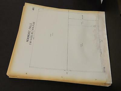 Wisconsin, Waukesha County Map, 1967 Menomonee Falls, 52 Double Sided Pages! M13