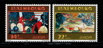 LUXEMBURGO/LUXEMBOURG 1993 MNH SC.896/867 CEPT,paintings