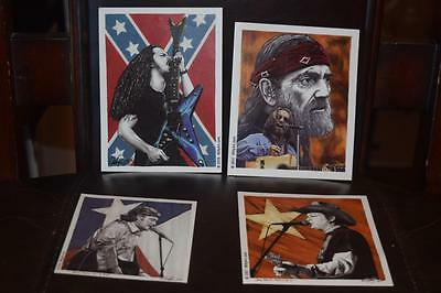 Group of Willy Art .com  Stickers Boland, Rogers, Beautiful great for collector