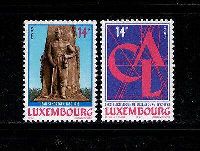 LUXEMBURGO/LUXEMBOURG 1993 MNH SC.902/903 Artistic Circle of Luxembourg