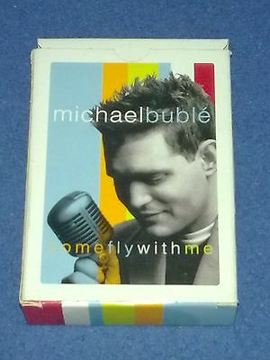 Michael Bublé - Come Fly With Me playing cards (promotional item)