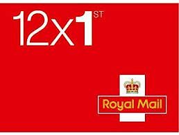 New Book Of 12 X 1St Class Stamps