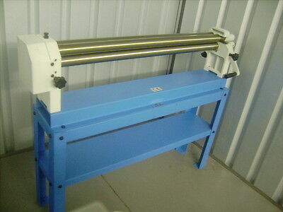 Hand operated  Bending rolls 1300mm x 75mm hand rollers