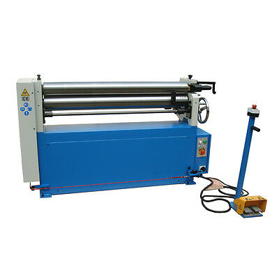 Power operated bending rolls , rollers 1300mm x 120mm 4mm capacity