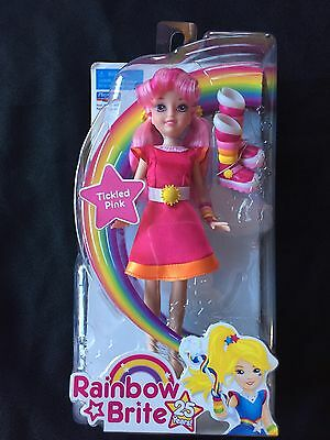 Rainbow Brite Doll TICKLED PINK 25th Anniversary Toy Hallmark Playmates 2009 10""