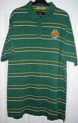 South Africa - National Rugby Casual/Leisure Shirt/Jersey - Adult - XL