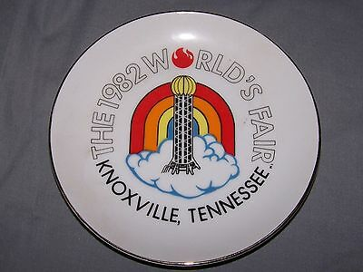 The 1982 World's Fair Plate - Knoxville, Tennessee