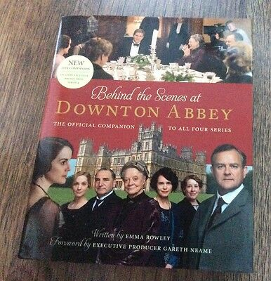 Behind the Scenes at Downton Abbey - hardback book 2013 BBC 1 TV series