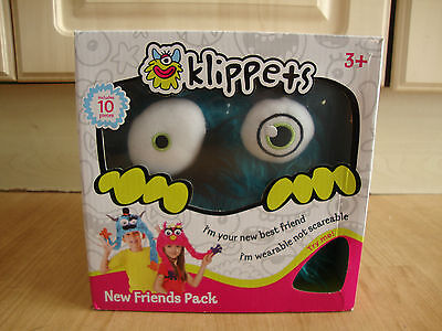 Childrens Klippets Puppet Hat Starter Pack New And Unused