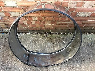 Mercedes W163 ML Spare Wheel Carrier Cover Stainless Steel Jeep 4x4