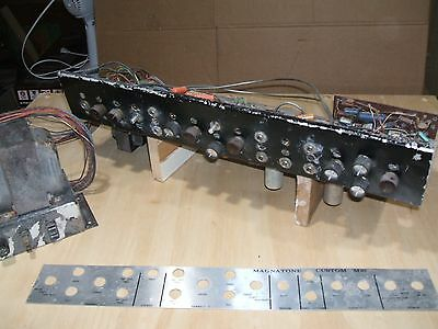 Vintage Magnatone Custom M-10 Guitar Amp Chassis w/pwr supply