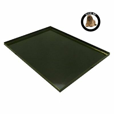 Ellie-Bo Replacement Metal Tray for Dog Cage Crate Large 36-inch Black