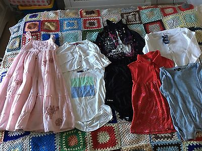 Girls Clothes Bundle Age 8-10 Years 8 Items Next, Gap, M&S, House Of Fraser
