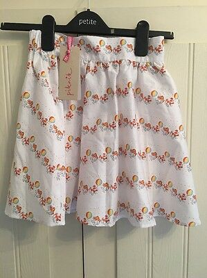 Gorgeous Girl's Elasticated Skirt By Piknik Age 9 years Rrp £24