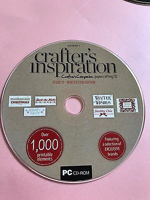 Crafters Inspiration Issue 12 Cd Rom Crafters Companion