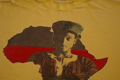 Vintage Jimmy Cliff Winter Tour Tee Shirt 1991