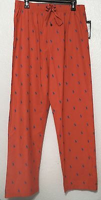Polo Ralph Lauren Men's Pajama Lounge Pants All Over Pony Size M L XL NWT