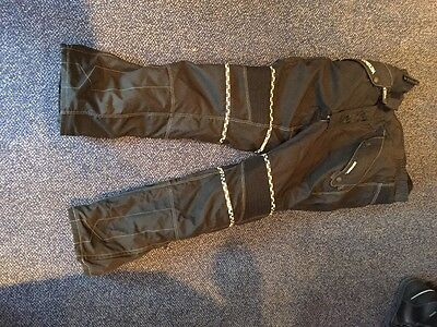 Weise Motorcycle Trousers, Black, Size Xl