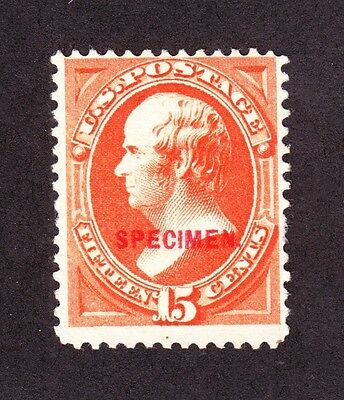 US 189SD 15c Webster Specimen Fine NG SCV $80