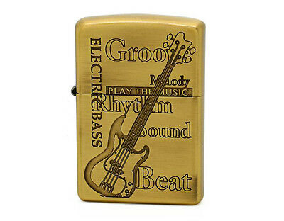 Zippo Play The Music Base / Antique Brass / RARE Model from JAPAN !