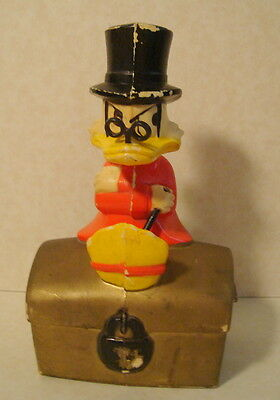 Vintage Promotional Advertising SCROOGE McDUCK Bank WDP Made in Finland