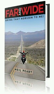 Neil Peart Hand Signed Far and Wide Limited Hardcover Slipcase Autographed RUSH