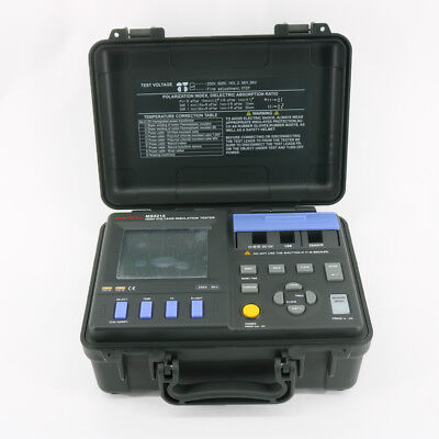 MASTECH MS5215 High Voltage Digital Insulation Tester Megometro Megger 5000V