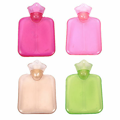 Home PVC Rubber Hot Water Bottle Bag Warm Relaxing Heat / Cold Therapy